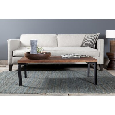Youmans Textured Contemporary Dark Gray Area Rug Rug Size: 5 x 76