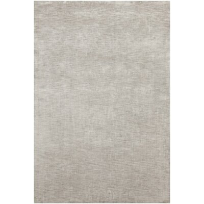Opel Textured Solid Gray Area Rug Rug Size: 79 x 106
