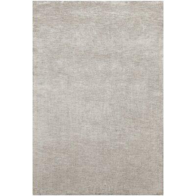 Leet Solid Gray Area Rug Rug Size: 79 x 106