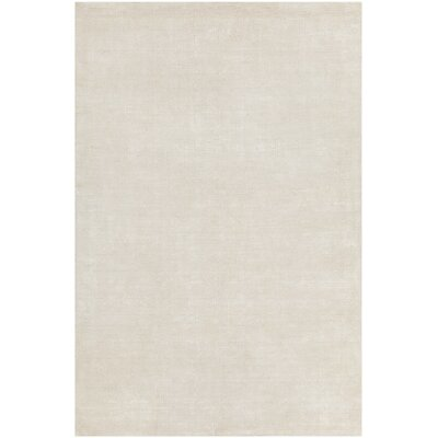 Greger Solid Cream Area Rug Rug Size: 79 x 106