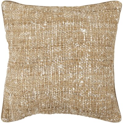 Textured Contemporary Silk Throw Pillow Size: 22 H x 22 W