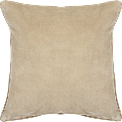 Eleanor Textured Contemporary Cotton Throw Pillow Size: 22 H x 22 W