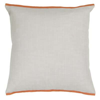 Hillview Textured Contemporary Cotton Throw Pillow Size: 18 H x 18 W