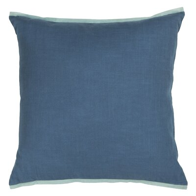 Windermere Textured Contemporary Cotton Throw Pillow Size: 18 H x 18 W