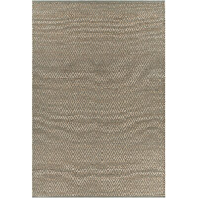 Hammonton Textured Contemporary Gray/Tan Area Rug Rug Size: 79 x 106