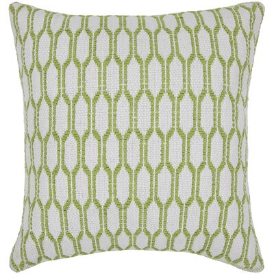 Antwon Textured Contemporary Cotton Throw Pillow Size: 18 H x 18 W