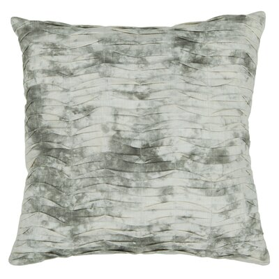 Yeomans Textured Contemporary Cotton Throw Pillow Size: 18 H x 18 W