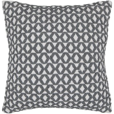 Dontae Geometric Contemporary Throw Pillow Size: 18 H x 18 W