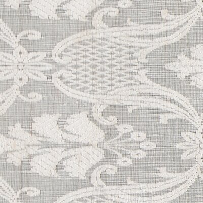 Vaishali Patterned Wool Ivory Area Rug Rug Size: 5 x 76