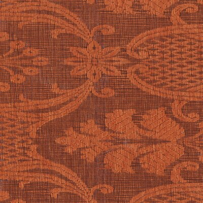 Shenaz Patterned Wool Rust Area Rug Rug Size: 79 x 106