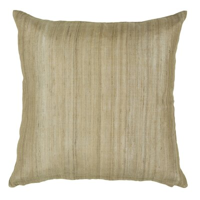 Coxe Textured Contemporary Silk Throw Pillow Size: 22 H x 22 W