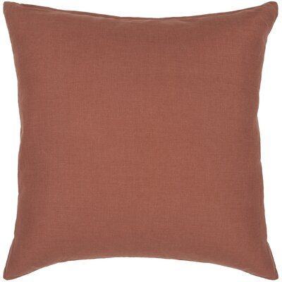 Logie Textured Contemporary Cotton Throw Pillow Size: 18 H x 18 W