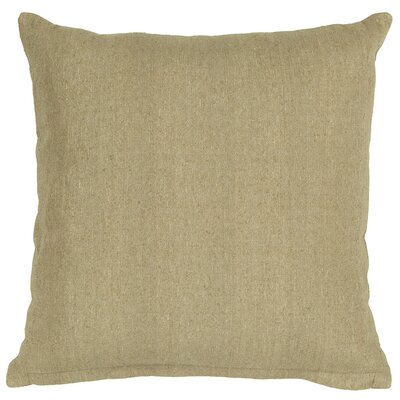 Textured Contemporary Tussar Silk Throw Pillow Size: 18 H x 18 W
