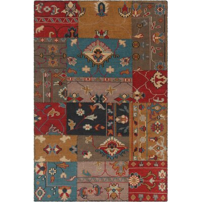Fusion Patterned Contemporary Area Rug Rug Size: 79 x 106