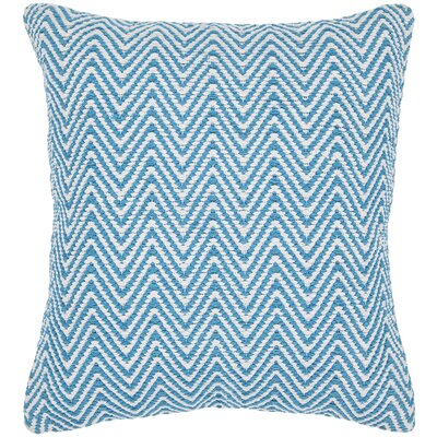 Zeibak Chevron Contemporary Cotton Throw Pillow Size: 18 H x 18 W