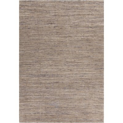 Pretor Textured Contemporary Natural Area Rug Rug Size: 7'9