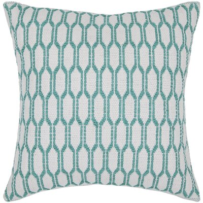 Cortney Textured Contemporary Cotton Throw Pillow Size: 18