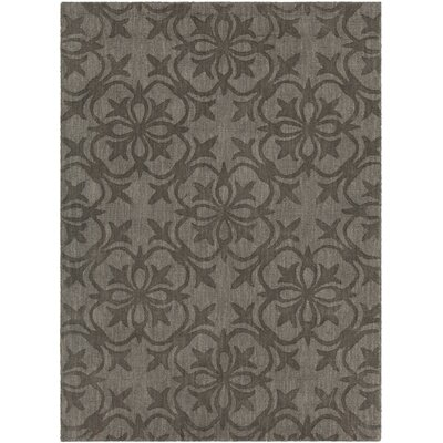 Beazer Patterned Tranditional Taupe Area Rug Rug Size: 5 x 7