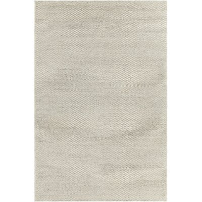 Kurten Contemporary Wool Cream Area Rug Rug Size: 5 x 76