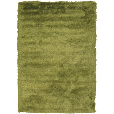 Shaylene Textured Contemporary Green Area Rug Rug Size: 5 x 76