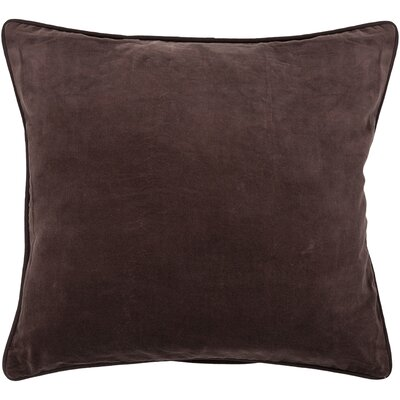 Autry Textured Contemporary Throw Pillow Size: 18 H x 18 W