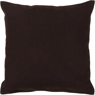 Denita Textured Contemporary Wool Throw Pillow Size: 18 H x 18 W
