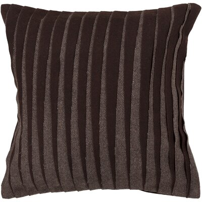 Beugre Textured Contemporary Wool Throw Pillow Size: 22 H x 22 W