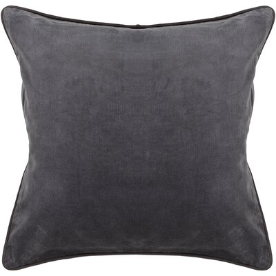Eulalia Textured Contemporary Cotton Throw Pillow Size: 18 H x 18 W
