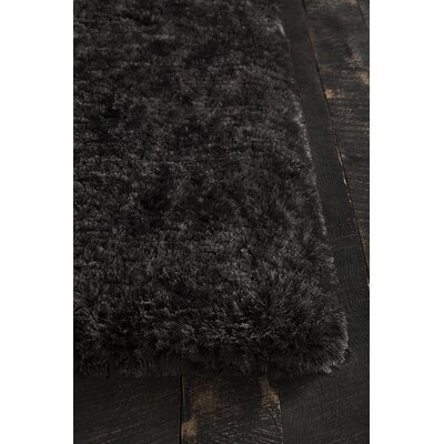 Joellen Black Area Rug Rug Size: Rectangle 5 x 76
