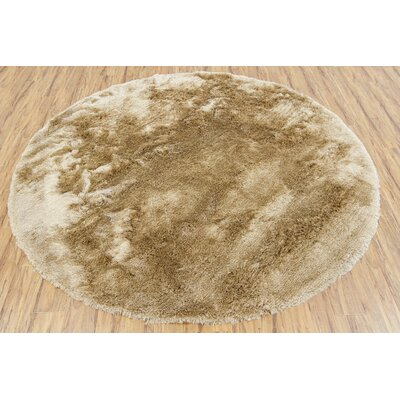 Shaylene Textured Contemporary Beige Area Rug Rug Size: 79 x 106