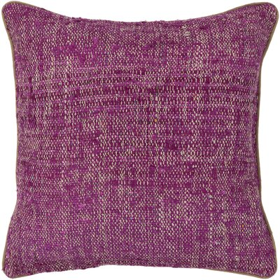 Cottesmore Textured Contemporary Silk Throw Pillow Size: 22 H x 22 W