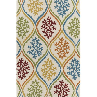 Athina Patterned Area Rug Rug Size: 79 x 106