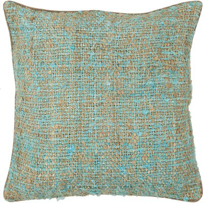 Ahadpour Textured Contemporary Silk Throw Pillow Size: 18 H x 18 W