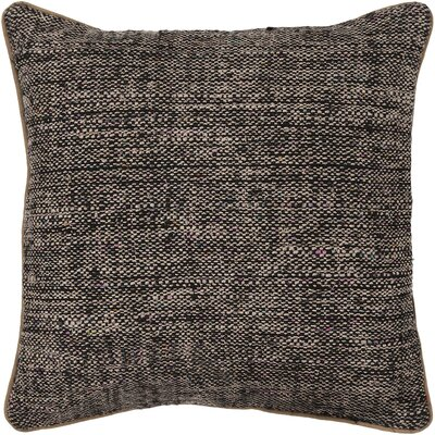 Americana Textured Contemporary Silk Throw Pillow Size: 18 H x 18 W