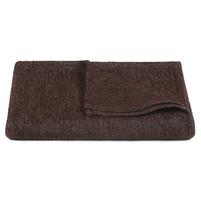 Lulu Handcrafted Polyester Throw Color: Brown