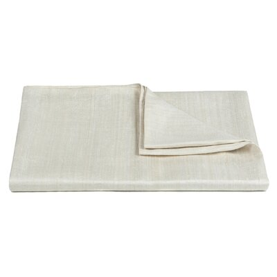Vesper Handcrafted Silk Throw Color: Bleach