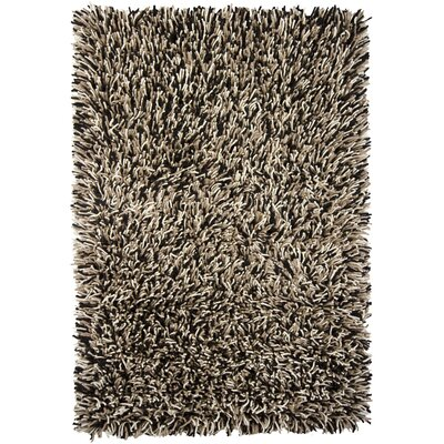 Freddie Black/White Area Rug Rug Size: Rectangle 5 x 76