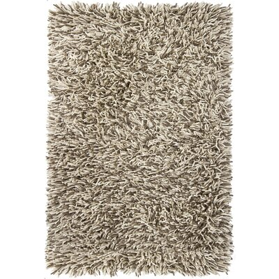 Freddie White/Gray Area Rug Rug Size: Rectangle 79 x 106