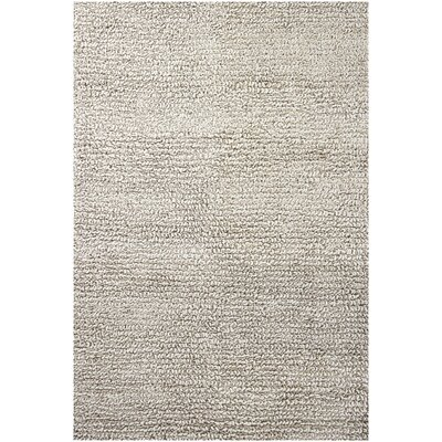 Zeal Gray Area Rug Rug Size: Rectangle 5 x 76