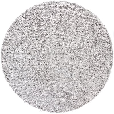 Zeal Gray Area Rug Rug Size: Round 79