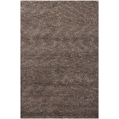 Zeal Black/Gray Area Rug Rug Size: Rectangle 5 x 76
