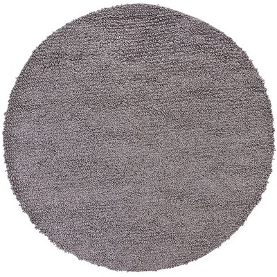 Zeal Black/Gray Area Rug Rug Size: Round 79