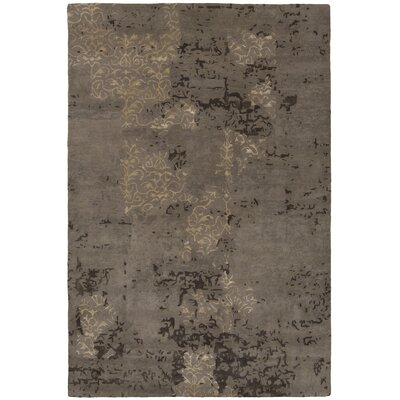 Powell Brown Area Rug Rug Size: 79 x 106