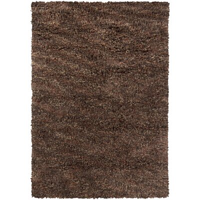 Aviles Brown Area Rug Rug Size: Rectangle 9 x 13