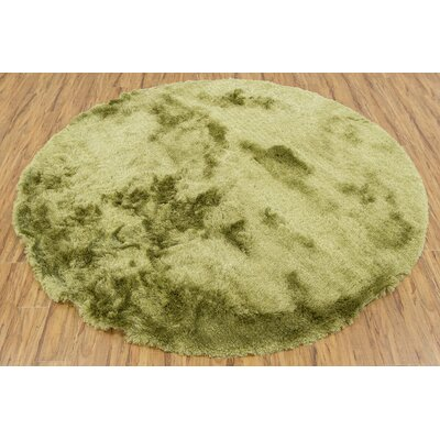 Levy Green Area Rug Rug Size: Round 79