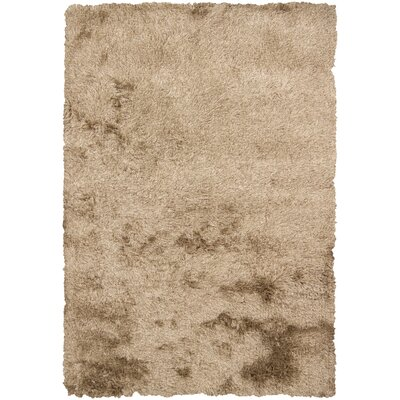 Petrina Brown Solid Area Rug Rug Size: 5' x 7'6