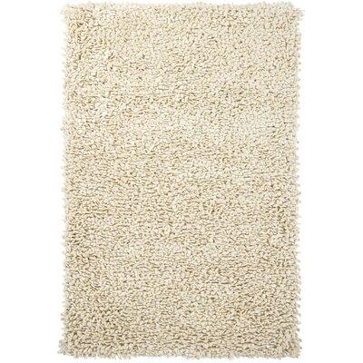 Azzura White Area Rug Rug Size: 79 x 106