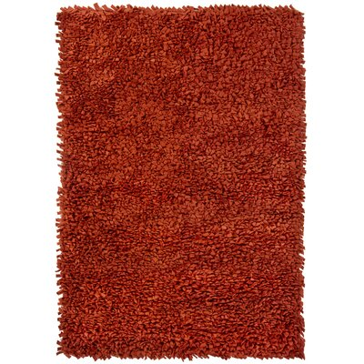 Azzura Red Area Rug Rug Size: 79 x 106