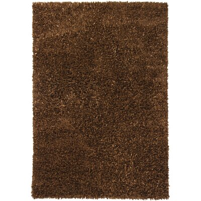 Ormet Brown Area Rug Rug Size: 79 x 106