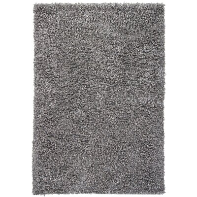 Renald Grey Area Rug Rug Size: 79 x 106